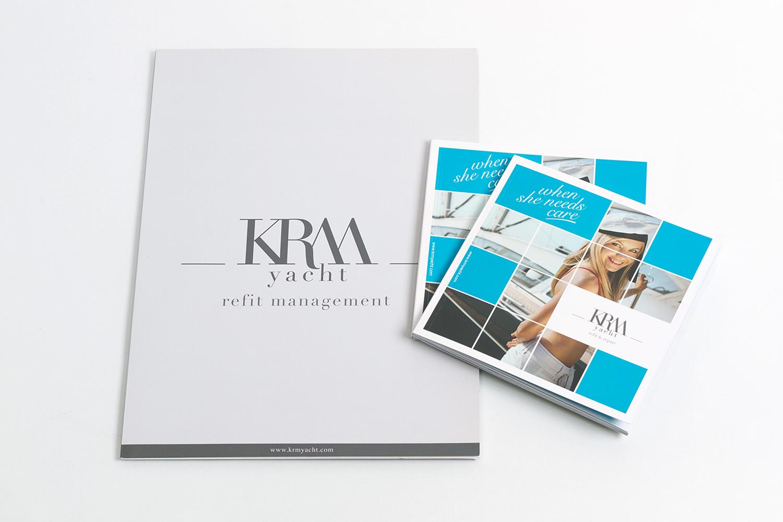 KRM Yacht - Kurumsal Kimlik Tasarımı