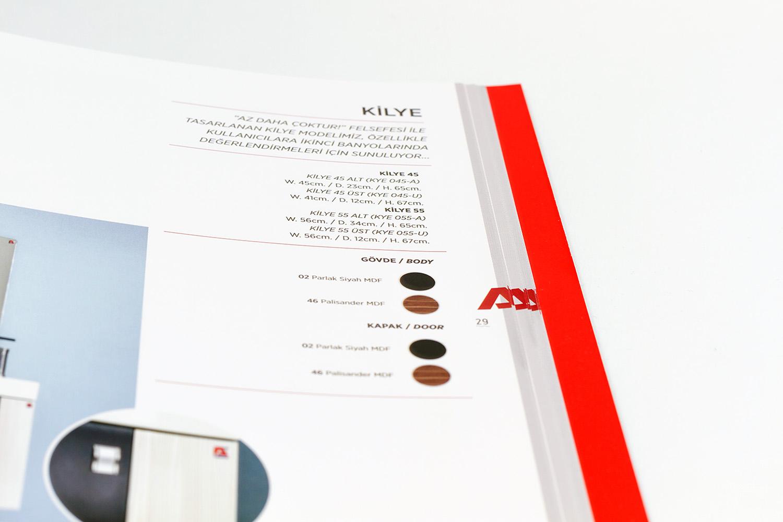 Biancoa - Broşür, Katalog Tasarımları