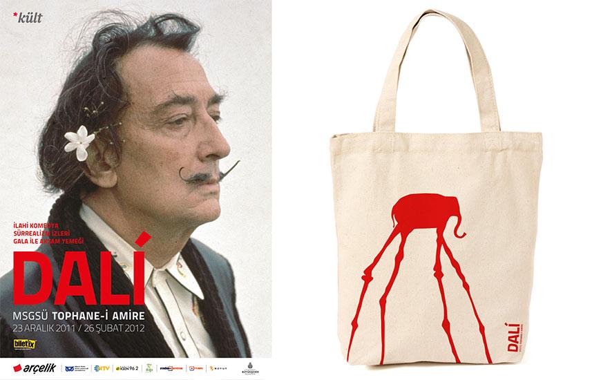 Salvador Dali Sergisi - Entegre Kampanya Tasarımı