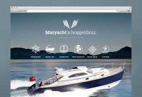 MARYACHT WEB SİTESİ TASARIMI