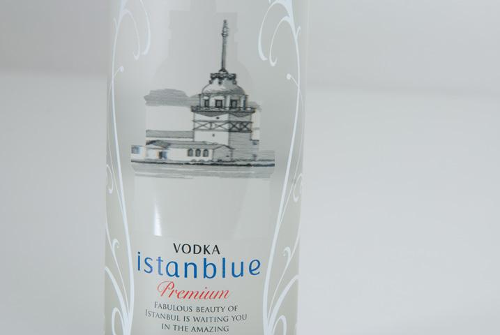 Istanblue Vodka Ambalaj Tasarımı