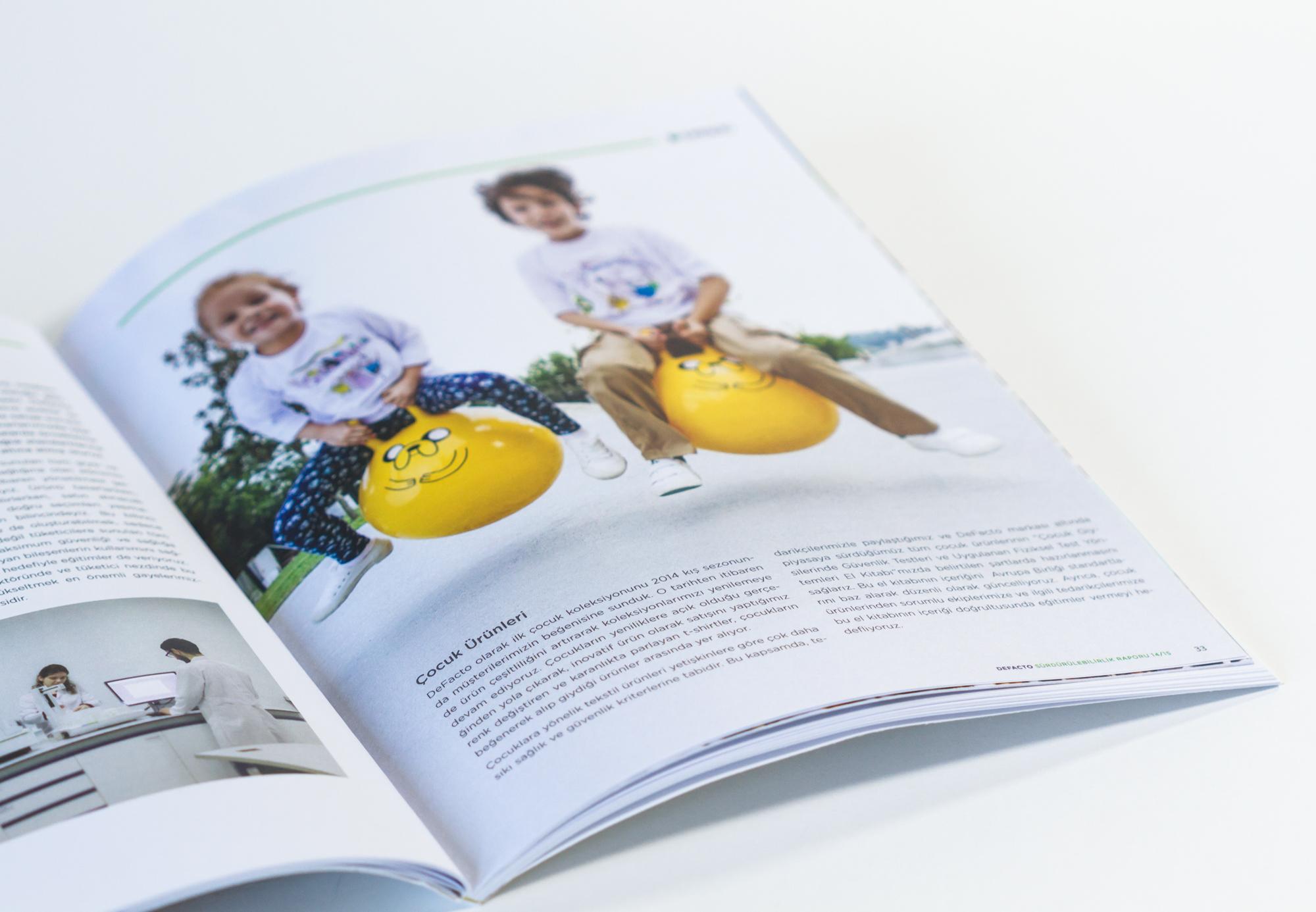 DeFacto Sürdürülebilirlik Raporu 2014